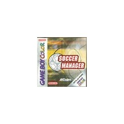 Soccer Manager Go Adriaanse 102438  Game Boy Color