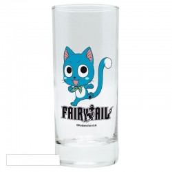 FAIRY TAIL - Glass - Happy 171723  Drinkbekers - Mugs