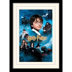 HARRY POTTER - Mounted & Framed 30X40 Print - Philosophers Stone 171754  Frames