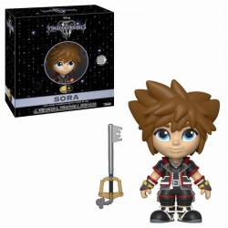 DISNEY - 5 Star Vinyl Figure 8 cm - Kingdom of Hearts 3 - Sora 171774  Disney