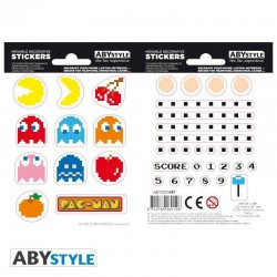 PAC-MAN - Stickers - 16x11cm / 2 Sheets - Labyrinthe