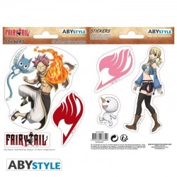 FAIRY TAIL - Stickers - 16x11cm / 2 Sheets - Natsu & Lucy 171811  Stickers