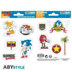 SONIC - Stickers - 16x11cm / 2 Sheets - Sonic Retro