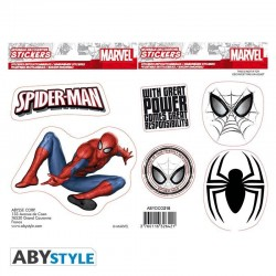 MARVEL - Stickers - 16x11cm / 2 Sheets - Spider-Man