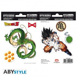 DRAGON BALL - Stickers - 16x11cm / 2 Sheets - DBZ/Shenron