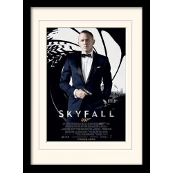 JAMES BOND - Mounted & Framed 30X40 Print - Skyfall 171851  Frames