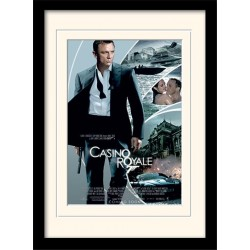 JAMES BOND - Mounted & Framed 30X40 Print - Casino Royale 171853  Ingelijst