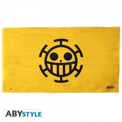 ONE PIECE - Vlag 70X120cm - Trafalgar Law 171870  Vlaggen