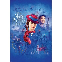 DISNEY - Poster 61X91 - Mary Poppins Return 171885  Disney