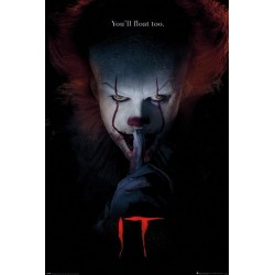 IT - Poster 61X91 - Pennywise Hush 171897  Posters