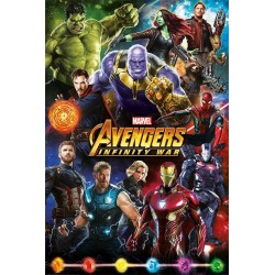 AVENGER INFINITY WAR - Poster 61X91 - Characters 171899  Posters