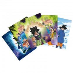 DRAGON BALL BROLY - Set of 5 Postcards - Broly 171927  Dragon Ball