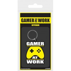 GAMER AT WORK - Rubber Keychain - Joypad 171933  Sleutelhangers