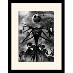 NIGHTMARE BEFORE CHRISTMAS - Mounted & Framed 30X40 Print - Jack 171935  Frames