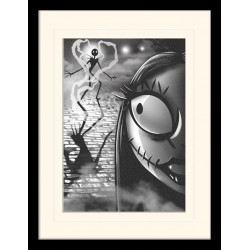 NIGHTMARE BEFORE CHRISTMAS - Mounted & Framed 30X40 Print - Misfit 171936  Frames