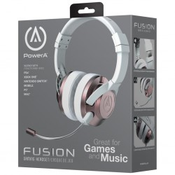 POWER A - Fusion Wired Gaming Headset Rose Gold (PS4/XBONE/PC/MAC) 171987  PC headsets