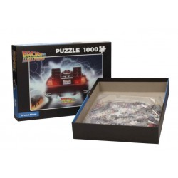 BACK TO THE FUTURE - Puzzle 1000P - Delorean Out of Tme 172079  Puzzels
