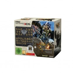 Console New 3DS BUNDLE Monster Hunter 4 Ultimate (LIMITED EDITION) 142980  2DS/3DS