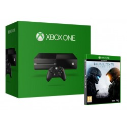Console Xbox One 500 Gb Black + Halo 5 (3340+9591) 148148  Retro Consoles