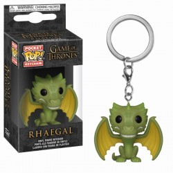 Pocket Pop Keychains : Game of Thrones - Rhaegal 172178  Sleutelhangers
