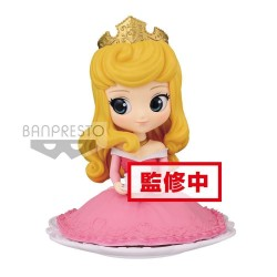 DISNEY - Q Posket SUGIRLY Princess Aurora Normal Color Version - 9cm 172314  Disney