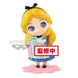 DISNEY - Q Posket SWEETINY Alice Normal Color Version - 10cm 172316  Disney