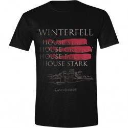 GAME OF THRONES - Winterfell Full Circle (S) 172389  T-Shirts Game Of Thrones