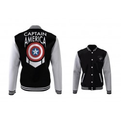MARVEL - Blouson Teddy Captain America Shield (S) 172434  Dc Comics