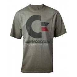 COMMODORE 64 - T-Shirt PREMIUM - 64K Vintage (S) 172789  T-Shirts Commodore 64