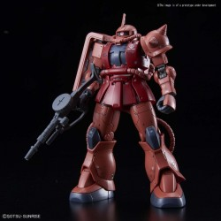 GUNDAM - Model Kit - HG 1/144 - MS-06S Zaku II Aznable's Mobile Red 172818  High Grade (HG)