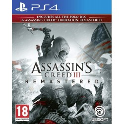 Assassin's Creed 3 + Assassin's Creed Liberation Remastered - PS4 172858  Playstation 4