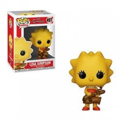 THE SIMPSONS - Bobble Head POP N° 497 - Lisa 172937  Bobble Head
