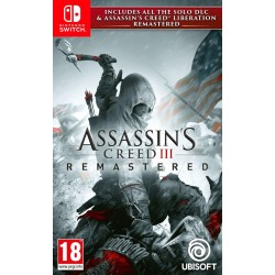 Assassin's Creed 3 + Assassin's Creed Liberation Remastered - Nintendo Switch 172977  Nintendo Switch