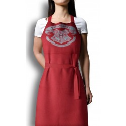 HARRY POTTER - Apron and Oven Mitt - Hogwarts Logo (PLASTIC BOX) 173037  Keuken Schorten
