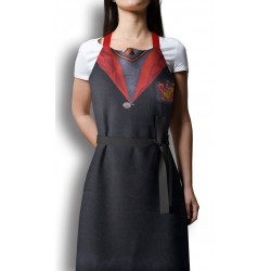 HARRY POTTER - Apron and Oven Mitt - Gryffindor Uniform (PLASTIC BOX) 173038  Keuken Schorten
