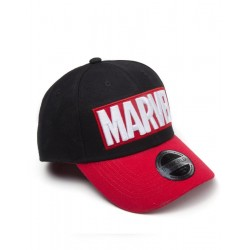 MARVEL - Red Brick Logo Curved Bill Cap 172812  Marvel