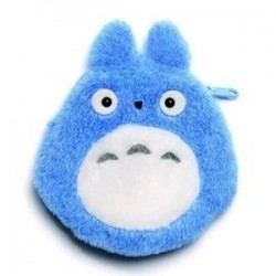 STUDIO GHIBLI - Coin Purse Totoro Plush Blue - 12 cm 173117  Studio Ghibli