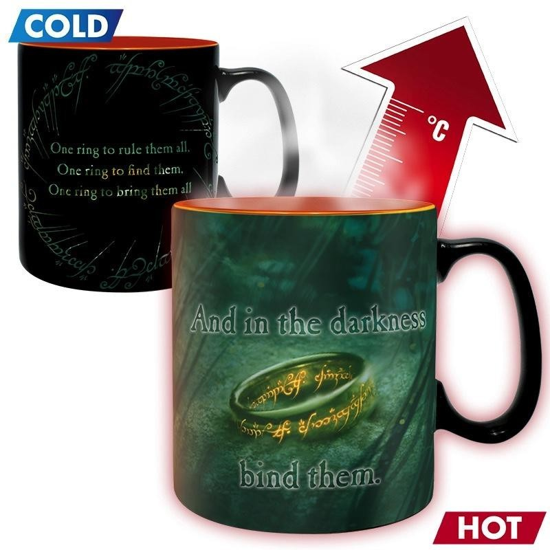 LORD OF THE RING - Beker Heat Change 460 ml - Sauron