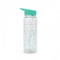 DISNEY - Water Bottle PVC 700ml - Ariel 'Life is the Bubbles' 173419  Water Flessen