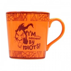 DISNEY - Mug 'Boxed' - The Lion King SCAR 'Surrounded by Idiots' 173426  Disney