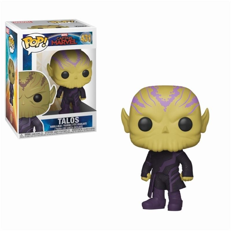 CAPTAIN MARVEL - Bobble Head POP N° 431 - Talos 171324  Funko Pops