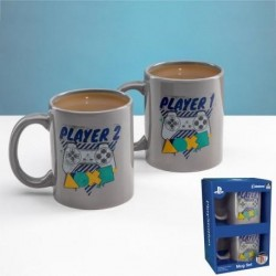 PLAYSTATION - Player One and Player Two Mug Set 173590  Playstation