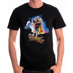 BACK TO THE FUTURE - T-Shirt Poster Back to the Future Part II (L) 154548  T-Shirts Back To The Future