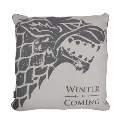 GAME OF THRONES - 45X45 Gevuld Kussen- Stark