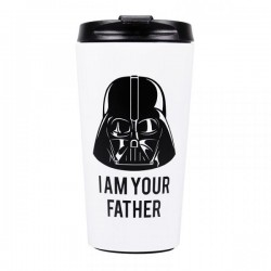 STAR WARS - Travel Mug Metal - Darth Vader I am Your Father 173819  Star Wars