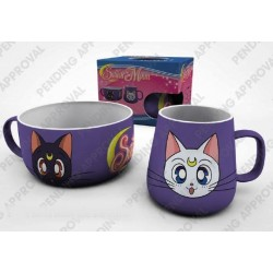 SAILOR MOON - Breakfast Set - Luna & Artemis 166498  Sailor Moon