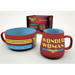 DC COMICS - Breakfast Set -...