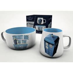 DOCTOR WHO - Breakfast Set...