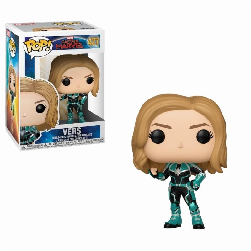 CAPTAIN MARVEL - Bobble Head POP N° 427 - Vers 171321  Bobble Head