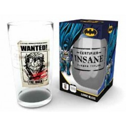 DC COMICS - Large Glasses 500ml - Joker Wanted 148582  Glazen